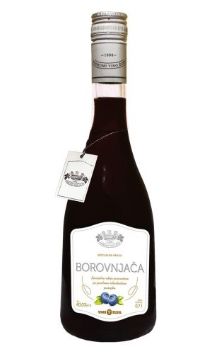 Blueberry brandy 40% 0,7l