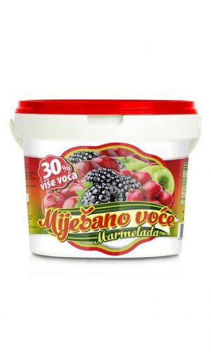 Fruit spread – Mixed fruits 2,5kg