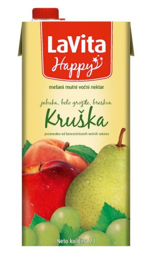 La Vita Happy – Kruška 2l
