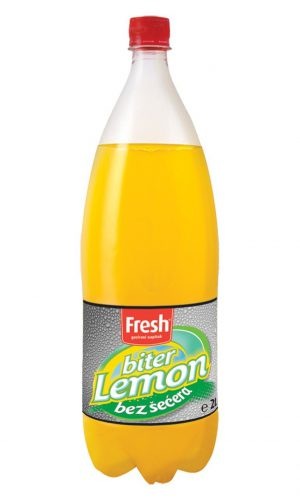 Fresh – Biter lemon 2l