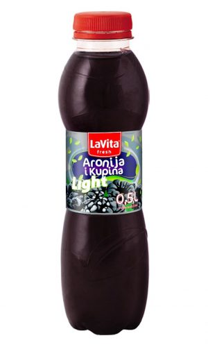 La Vita Fresh Light – Aronia and blackberry 0,5l