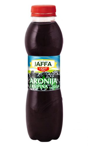 Jaffa Light fruit drink – Aronia and blackberry 0,5l