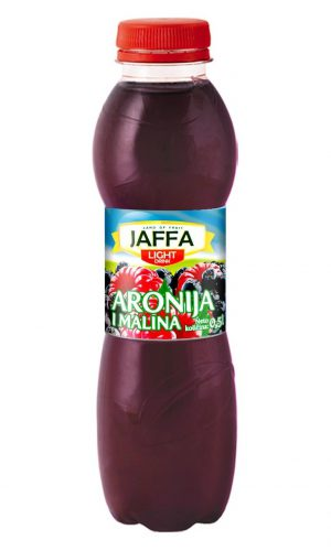 Jaffa Light fruit drink – Aronia and raspberry 0,5l