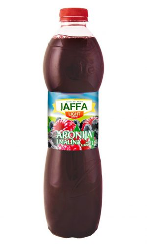 Jaffa Light fruit drink – Aronia and raspberry 1,5l