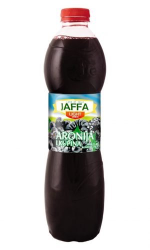 Jaffa Light fruit drink – Aronia and blackberry 1,5l