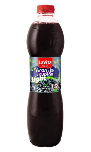 La Vita Fresh Light – Aronia and blackberry 1,5l